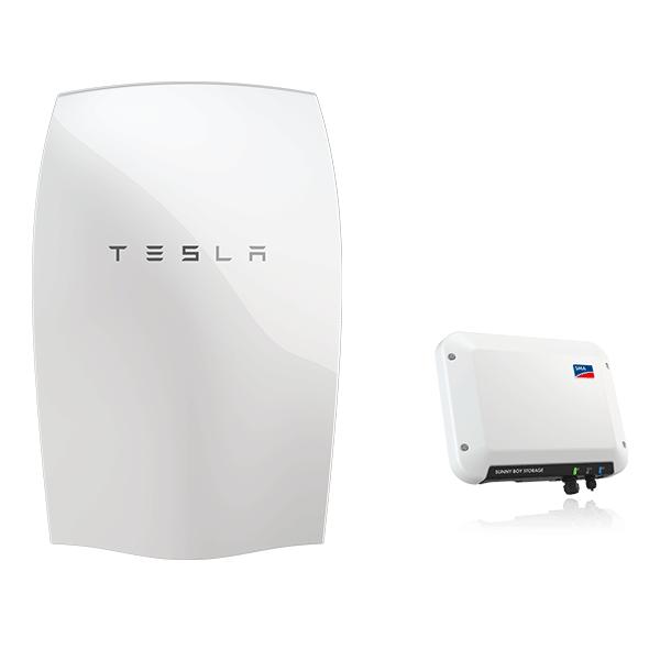 Nun auch als Speicherset: Tesla Powerwall mit SMA Sunny Boy Storage 2.5