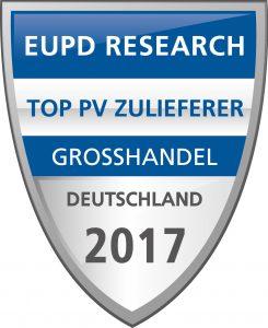 Auszeichnung Top PV Brand - Memodo Photovoltaik Großhandel