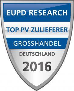 MEMODO TOP PV Brand im Bereich Photovoltaik Großhandel in Deutschland