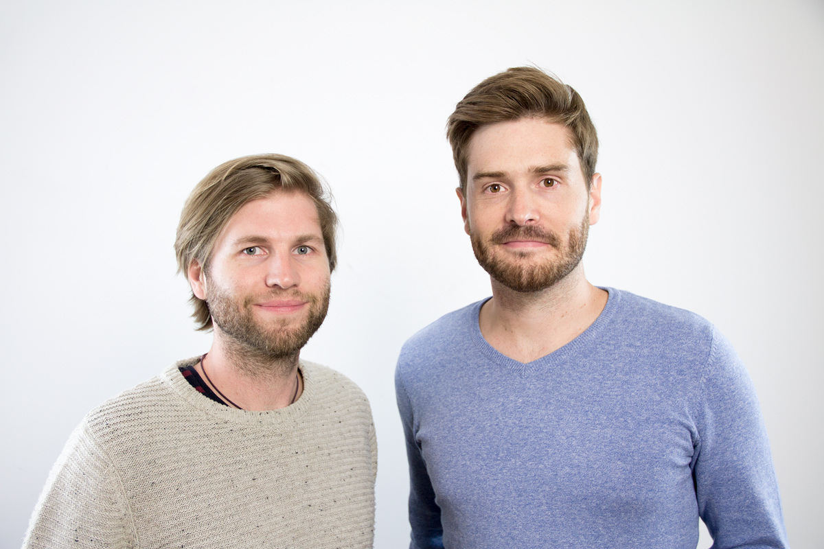 Philipp (links) und Kell (rechts) - Memodo Jobs - Marketing und Social-Media