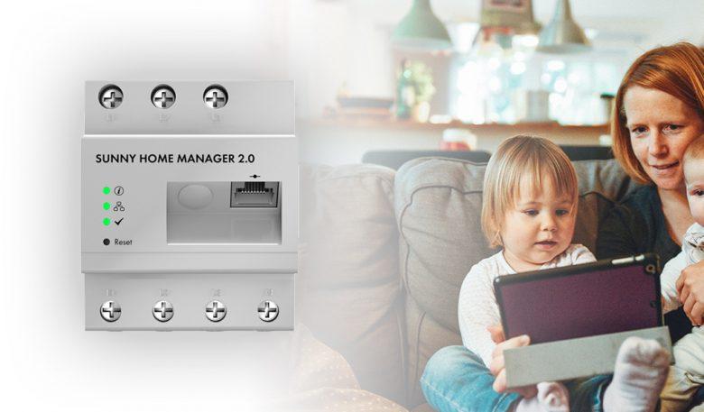 Der SMA SUNNY HOME MANAGER 2.0 für das Smart-Home zu Hause