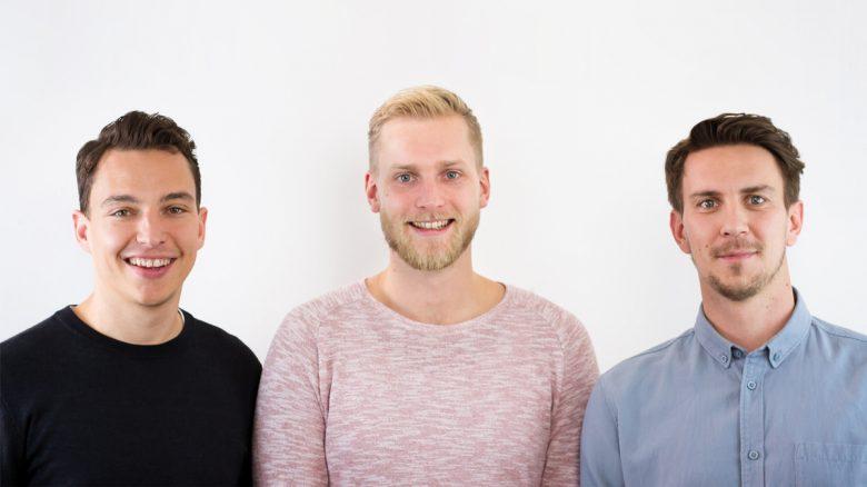 Die Memodo-Gründer: Tobias Wenleder, Enrico Brandmeier und Daniel Schmitt