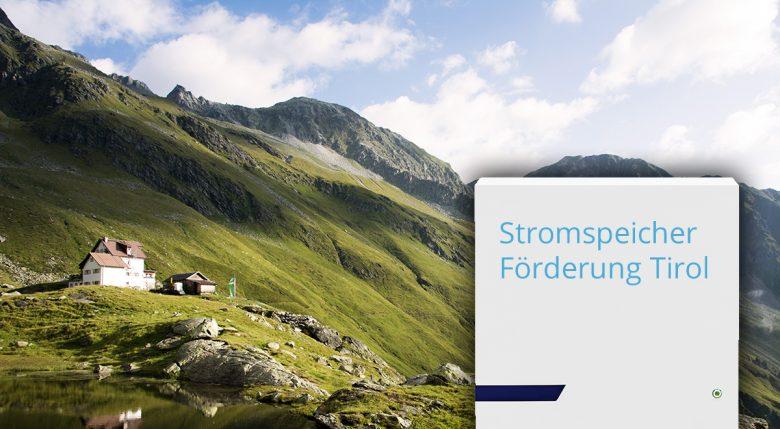 Die neue Stromspeicher-Förderung in Tirol