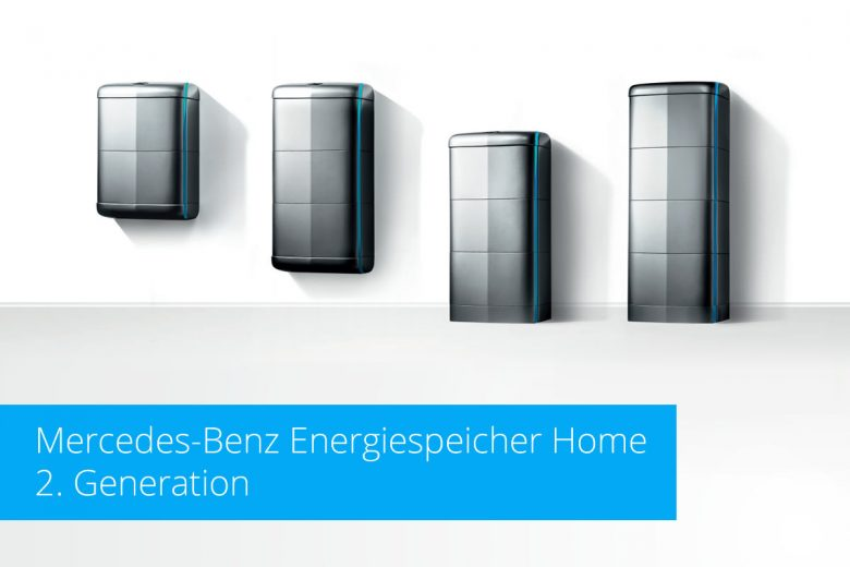 Die 2. Generation: Mercedes-Benz Energiespeicher Home