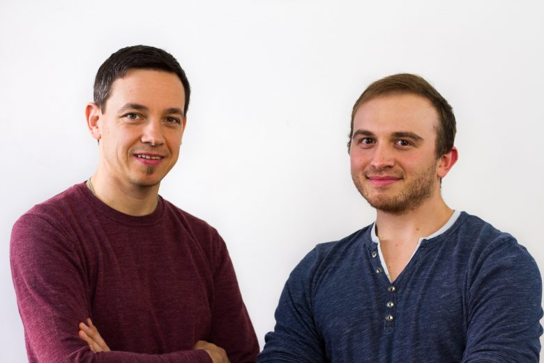 IT-Team: Michael Wenleder und Patrick Teibner