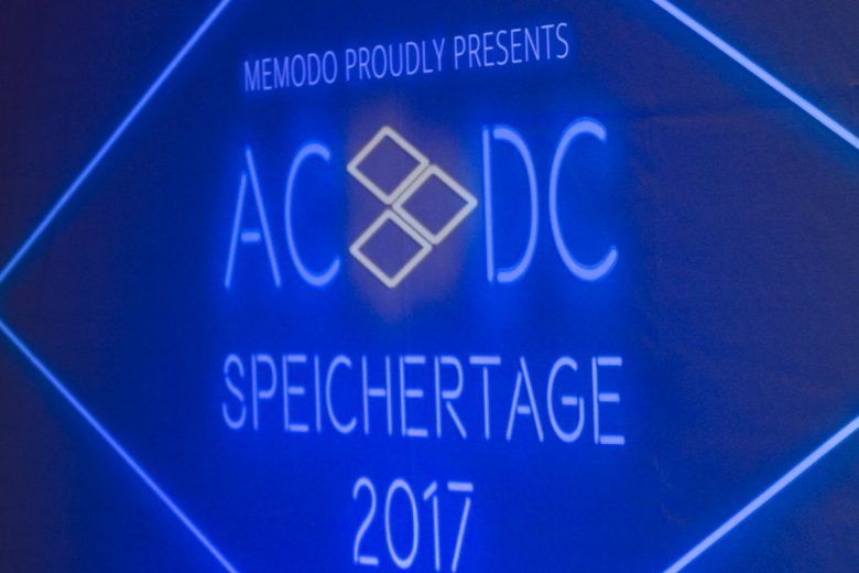 Memodo Speichertage 2017 - Rückblick - Event - Schulungen