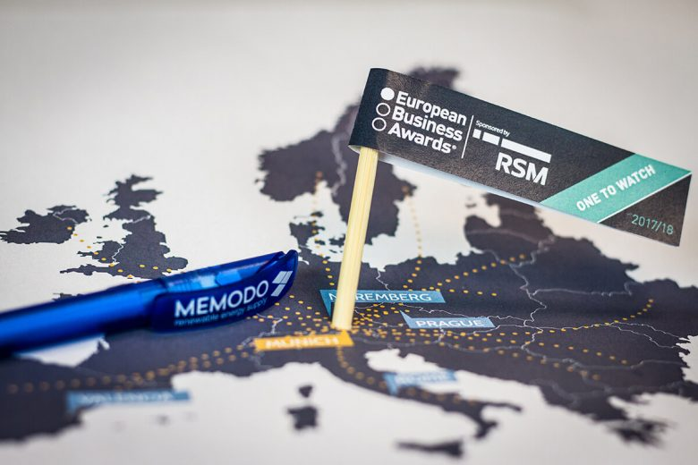 European Business Awards - Memodo 2017- one to watch