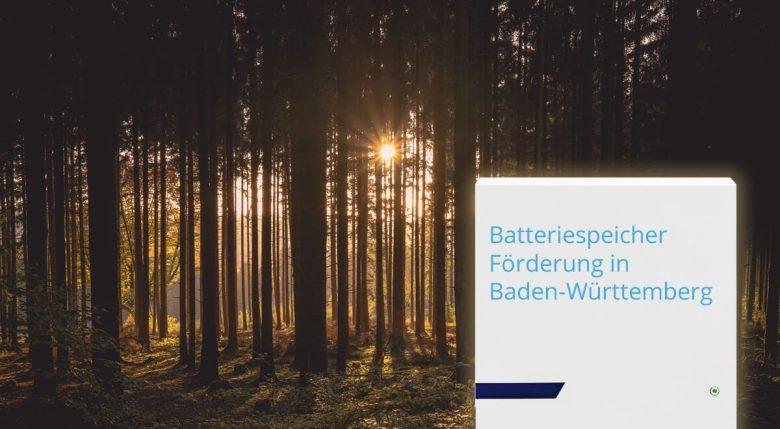 Batteriespeicher-Förderung in Baden-Württemberg