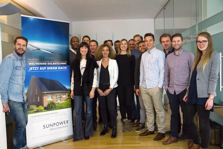 Memodo SunPower- SunPower Team in München bei Memodo