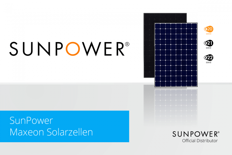 SunPower Maxeon Solarzellen exklusiv bei Memodo