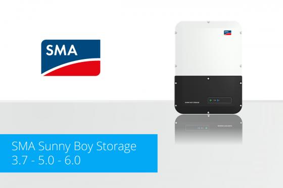 SMA Sunny Boy Storage - 3.7 - 5.0 - 6.0