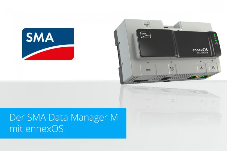 Memodo SMA Data Manager M mit ennexOS Betriebssystem