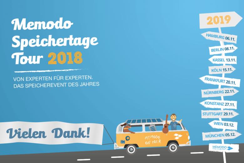 Memodo Speichertage 2018