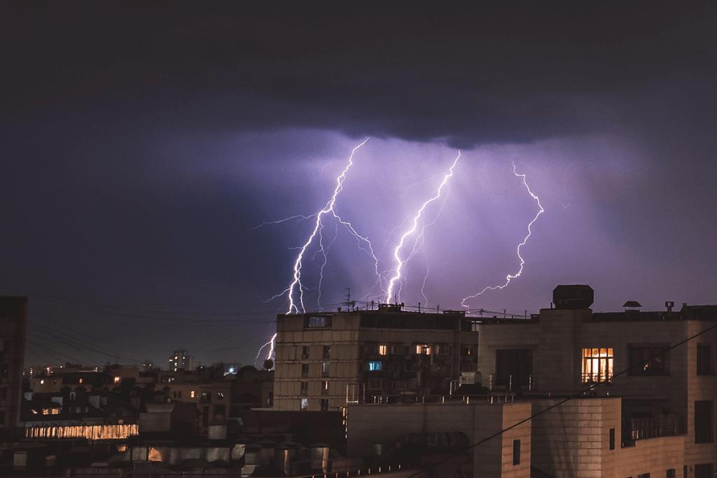 Netzausfall wegen Unwetter - Blackout Stromausfall
