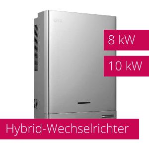 Hybrid-Wechselrichter mit 8 kW und 10 kW