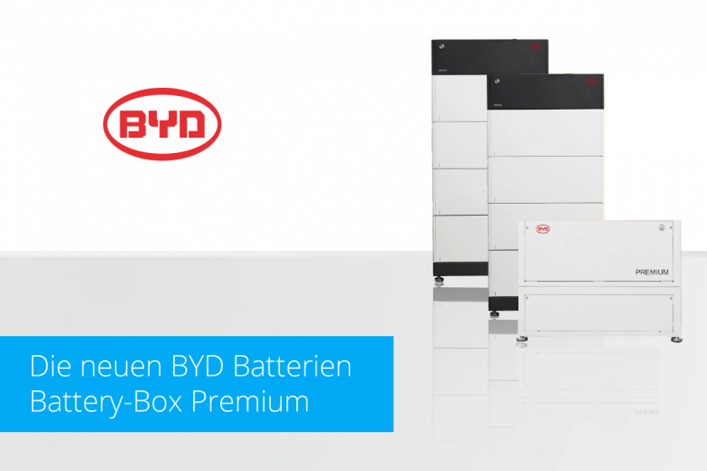 BYD Batterien - Battery-Box Premium
