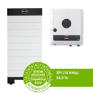 BYD Fronius Gen24 SPI 10 kWp Stromspeicher-Inspektion 2020