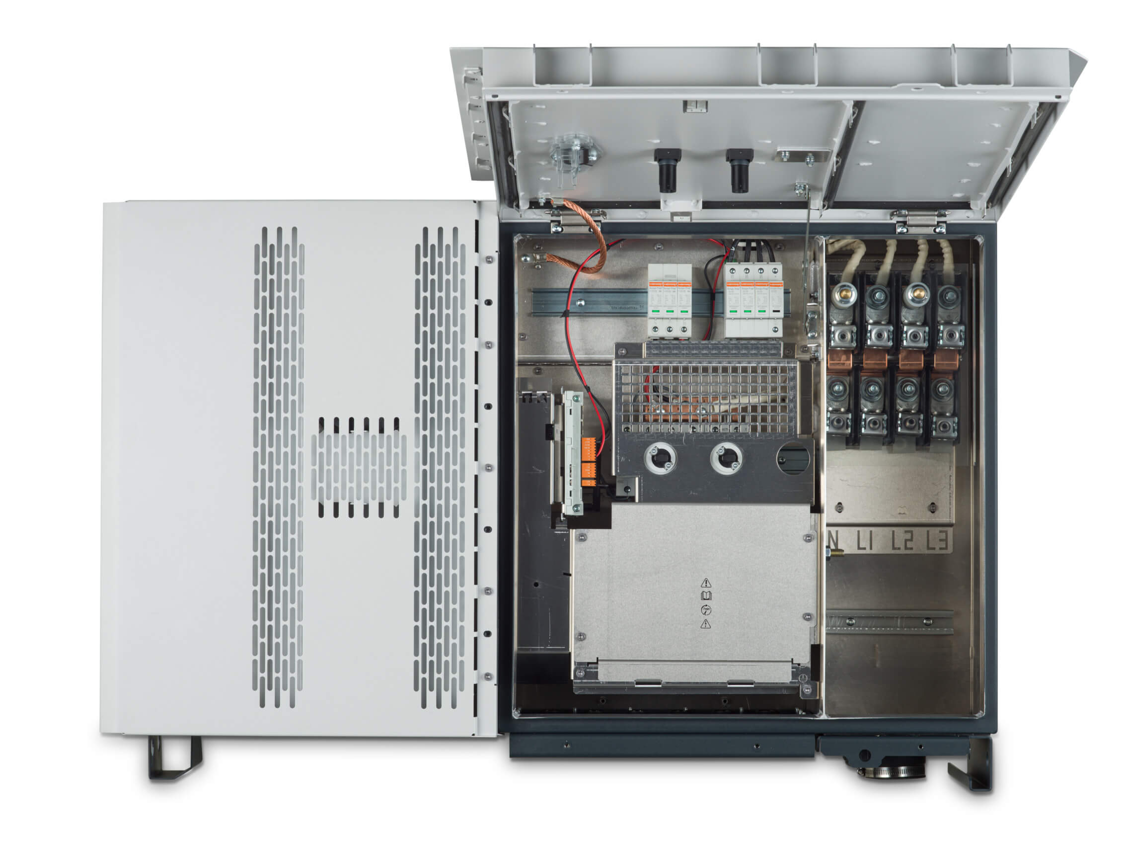 Innenleben Fronius Tauro 50 kW