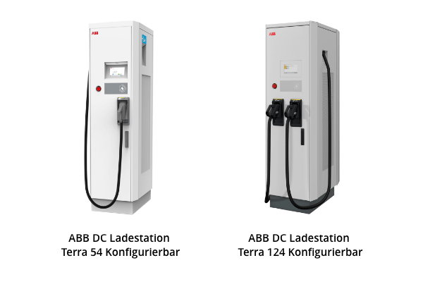 ABB DC Ladestationen Terra 54 und 124
