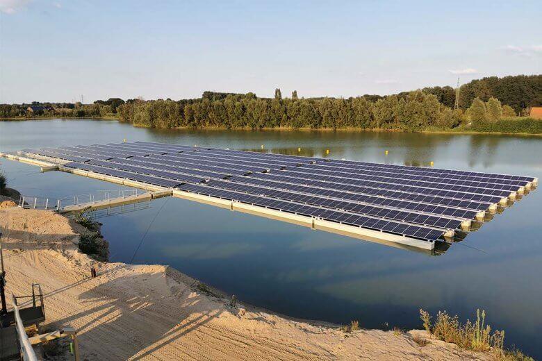 Floating-PV © Rheinland Solar
