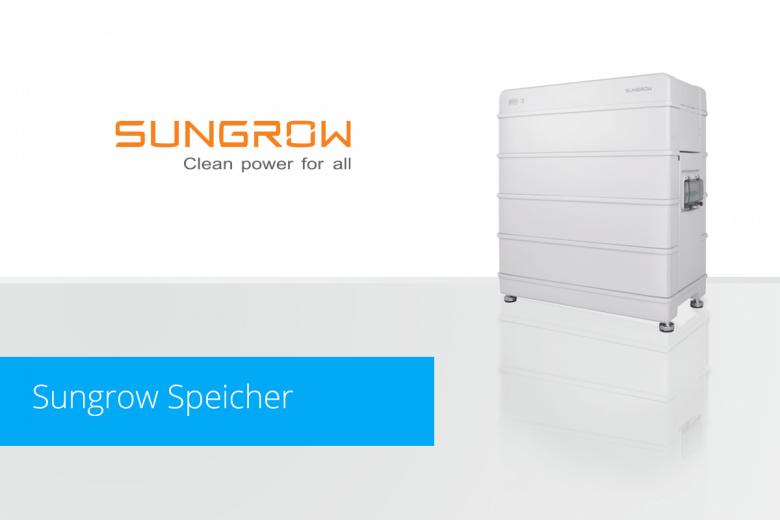 Sungrow Speicher