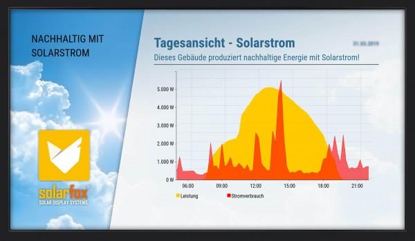 """Solarfox Solar-Anzeigedisplay SF-600, 55"""""""