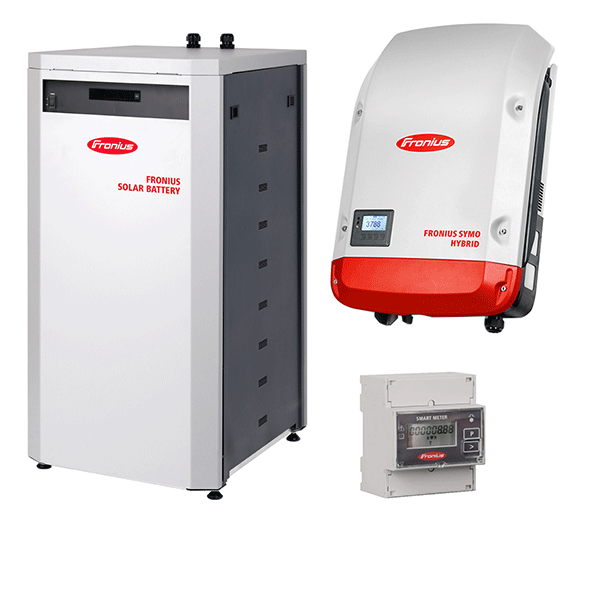 Fronius Symo Hybrid 3.0-3-S & Fronius Solar Battery 12.0 & Smart-Meter