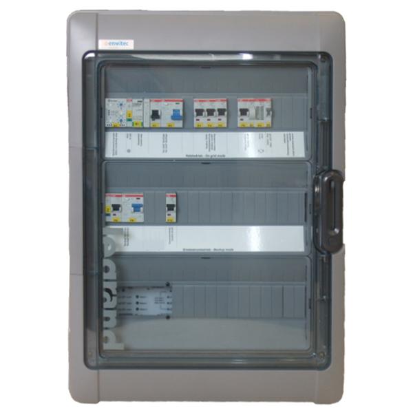 Enwitec Umschalteinrichtung SolarEdge Backup V 1.4