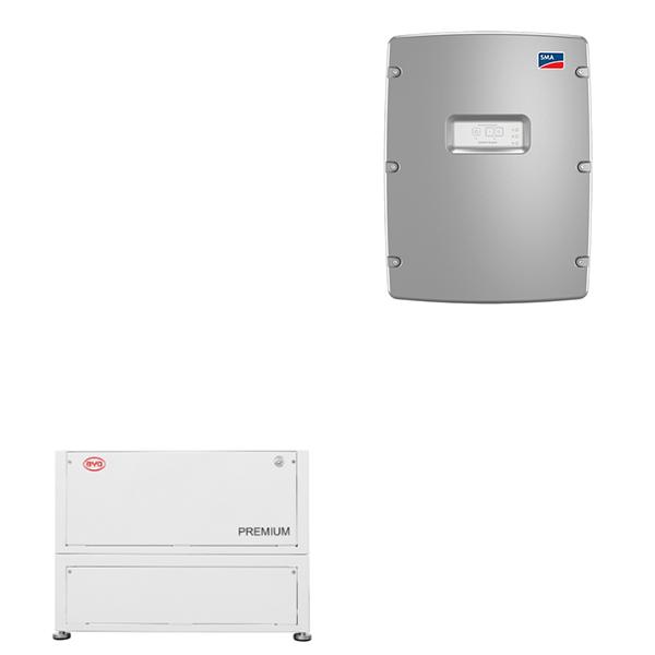 BYD BATTERY-BOX PREMIUM LVL 15.4 mit SMA SI 8.0H-13