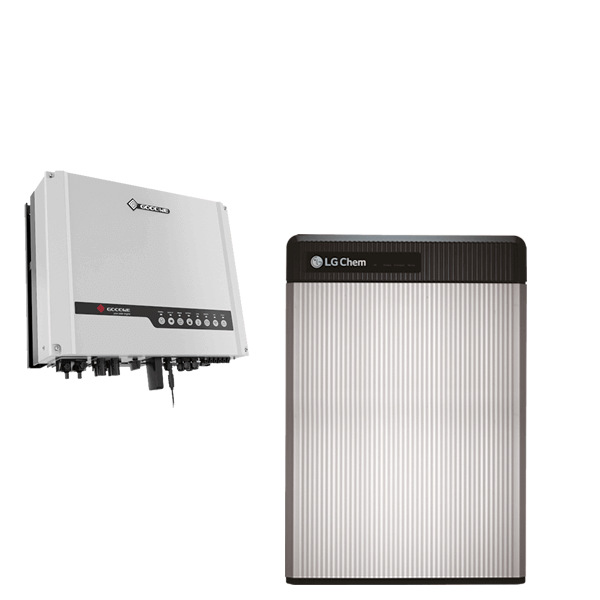 LG Chem Resu 6.5 mit GoodWe Hybrid LV GW3648D-ES / 3Phase-Smartmeter