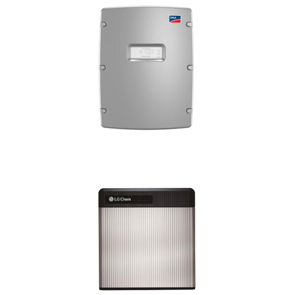 LG Chem RESU 10 & SMA SI 4.4M-13 Paket
