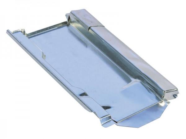 Marzari Metalldachplatte Typ Ton 260, schwarz-grau
