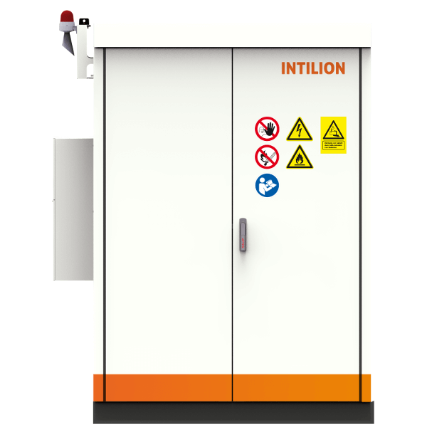 INTILION scalebloc 0,5C con 30 kW/68,5 kWh