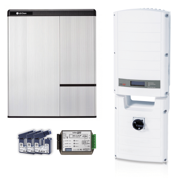 LG Chem RESU 10H & SE 5000 RWS inkl. Modbus & Stromsensoren