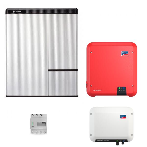 LG Resu 10H & SMA SB Storage 2.5 & SB 3.0