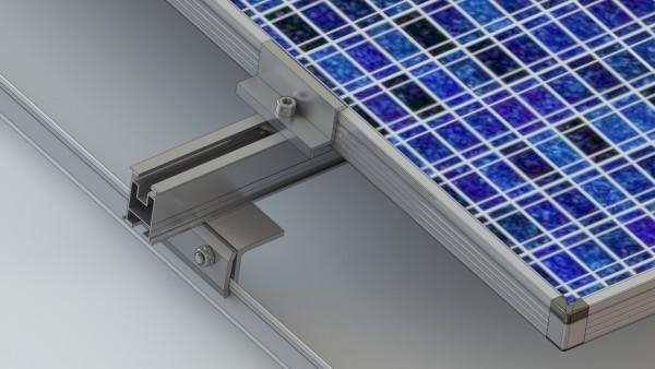 Alumero flat rate for metal folding roof, 1-ply, SLZ 2, WLZ 2
