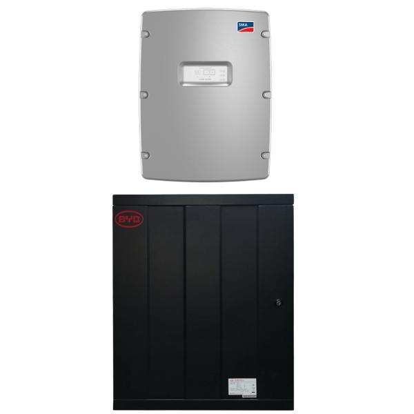 BYD Battery-Box Pro 13.8 mit SMA SI 8.0H-13 Paket