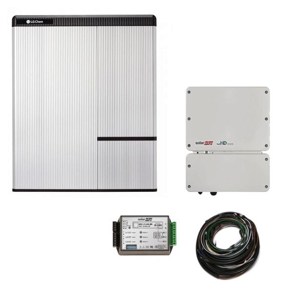 LG Chem RESU 10H & Jednofázový střídač SE5000H-O4 SolarEdge StorEdge