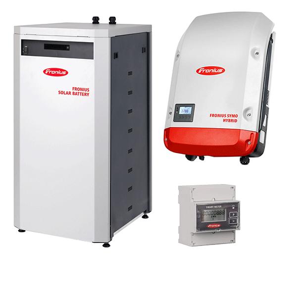 Fronius Symo Hybrid 4.0-3-S & Fronius Solar Battery 12.0 & Smart-Meter