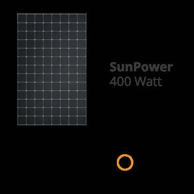SunPower 400 Watt Modul mit Maxeon Technologie