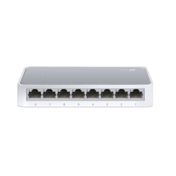 TP-Link TL-SF1008D 8 Fach Switch Unmanaged