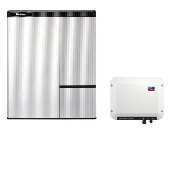 LG Chem RESU 7H & SMA SB Storage 2.5