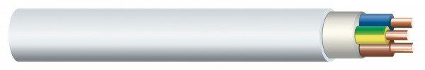 Non-metallic sheathed cable NYM-J 5x6 mm², 50m bundle