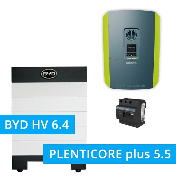 BYD Battery-Box H 6.4 Hochvolt mit KOSTAL Plenticore plus 5.5