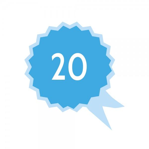 SMA Active Preisgruppe 2 20 Jahre