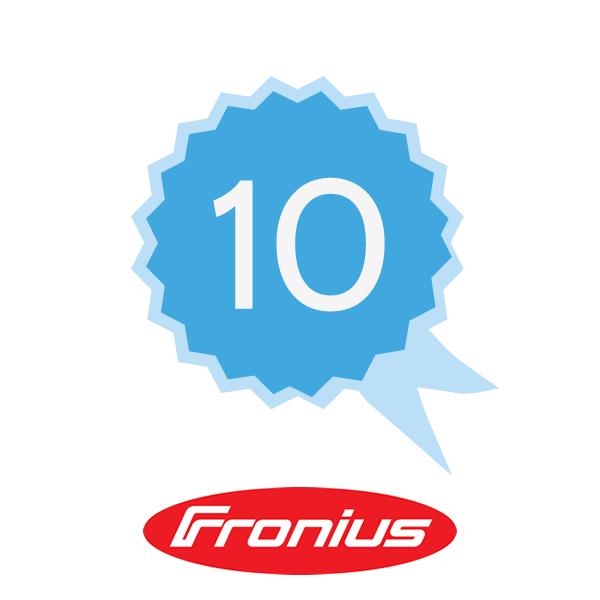 Fronius Garantieverlängerung Plus 10 J K2