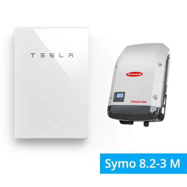 Tesla Powerwall mit Fronius Symo 8.2-3-M