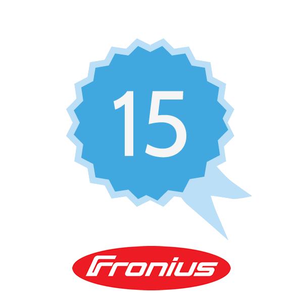 Fronius Garantieverlängerung Plus 15 J K1