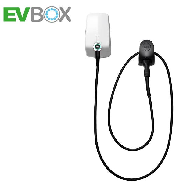 EVBox Elvi 11 kW mit Zähler, schwarz