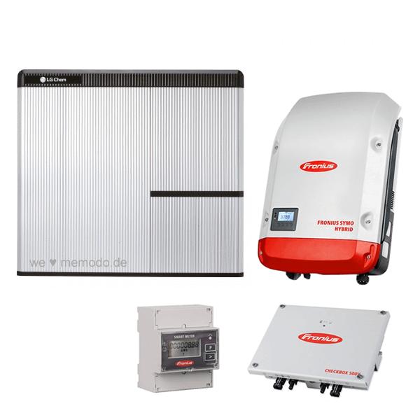 LG Chem RESU 7H & Fronius Symo Hybrid 3.0-3-S & Fronius Checkbox
